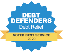 debt defenders badge